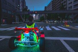 都内で問題多発! 法律のすき間を走る「公道カート」