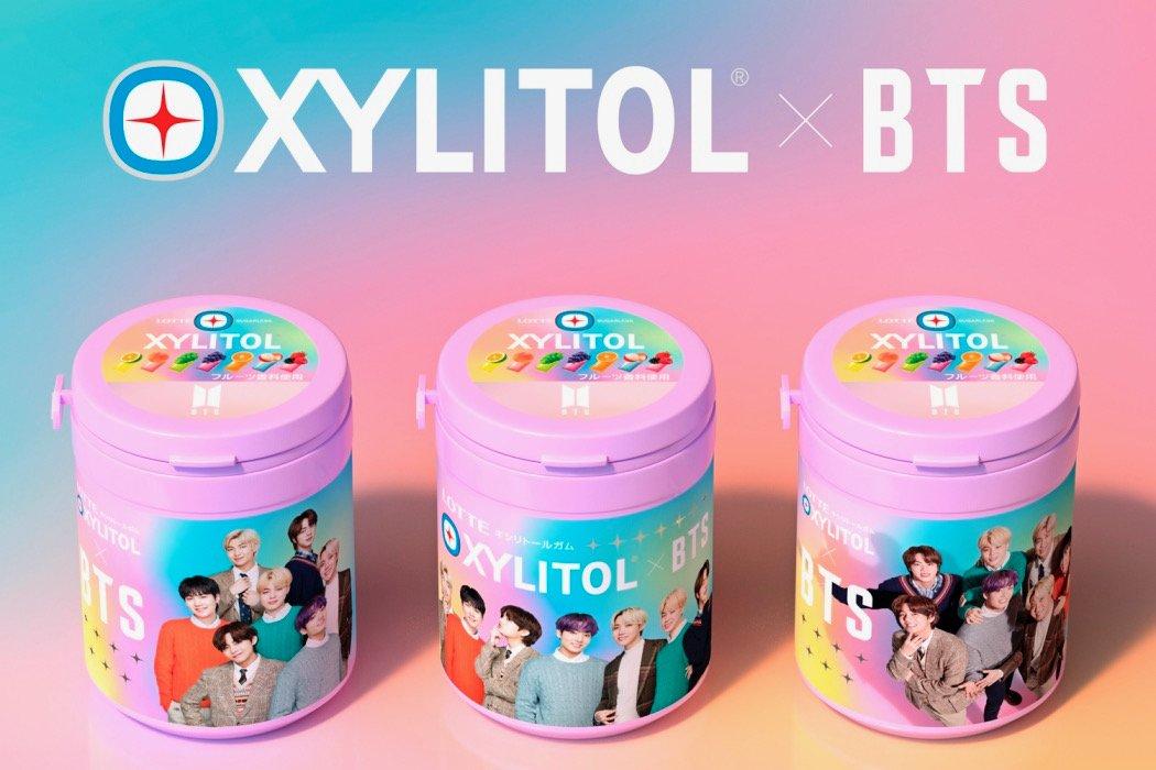【キシリトールガム 】10種の限定「BTS Smileボトル」登場で早くも話題