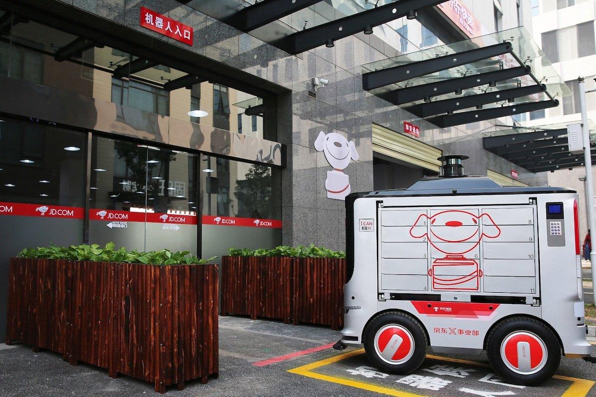 米中で宅配・配達ロボットの活用が拡大