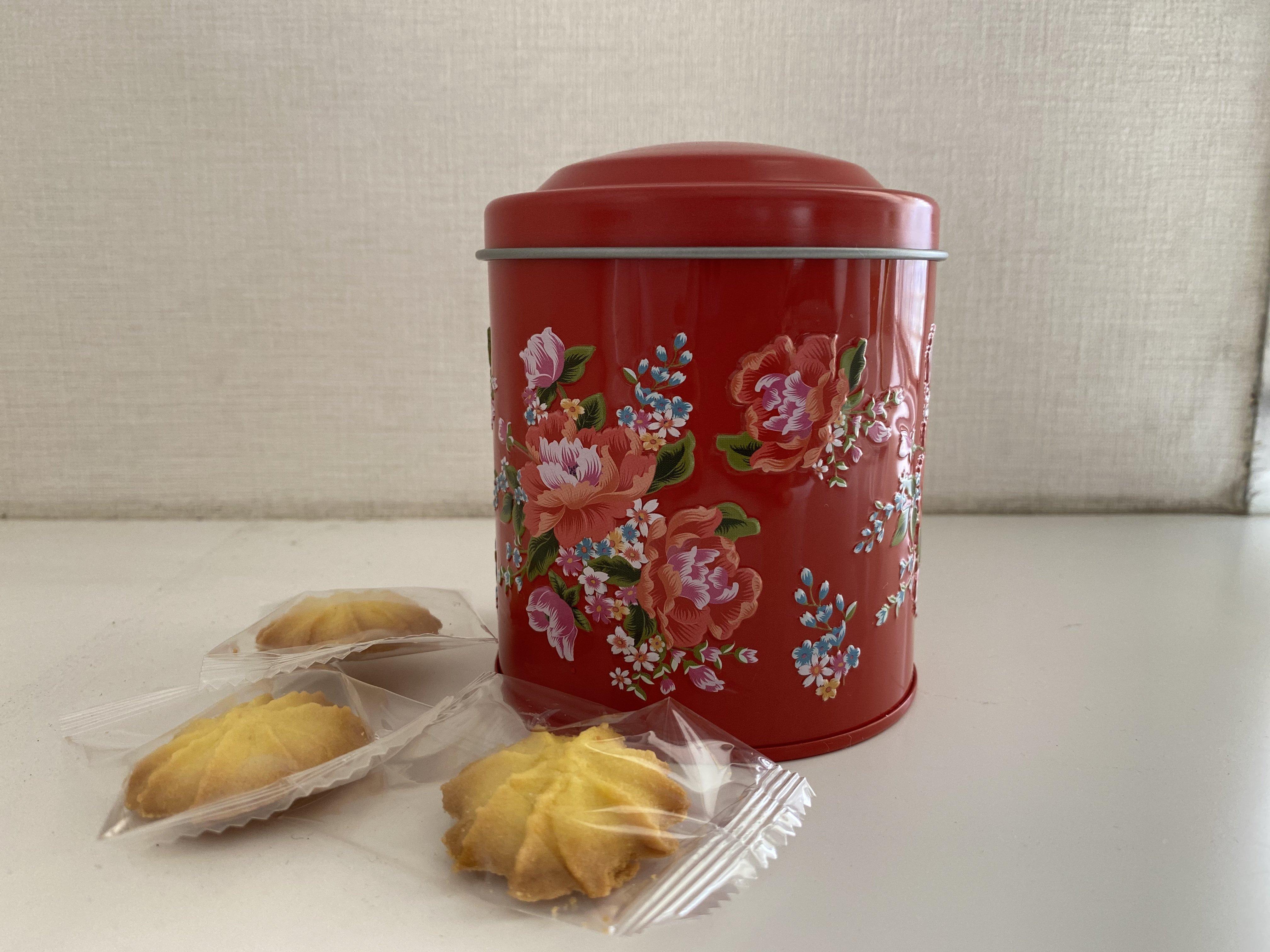 在庫わずか【カルディ】台湾フェア「レトロ缶入りパイナップルクッキー」可愛すぎ