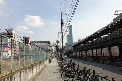 大阪・新今宮駅前の星野リゾートのホテル開業予定地を歩いてみる