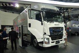 東京モーターショーで見たトラックの将来像