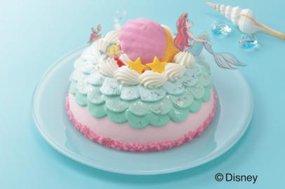 ディズニー『リトル・マーメイド』ケーキが話題!銀座コージーコーナー「ひなまつり」ケーキ