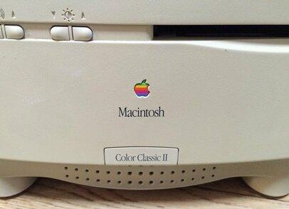 20年前のマッキントッシュに久しぶりに電源を入れてみた