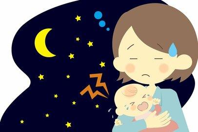 忙しい時期に子供の夜泣きはツライ…寝不足ママたちの乗り越え方は?