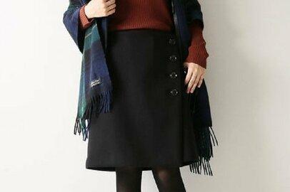 今年の冬、着回し力を重視するなら「シンプルな黒スカート」がオススメ!