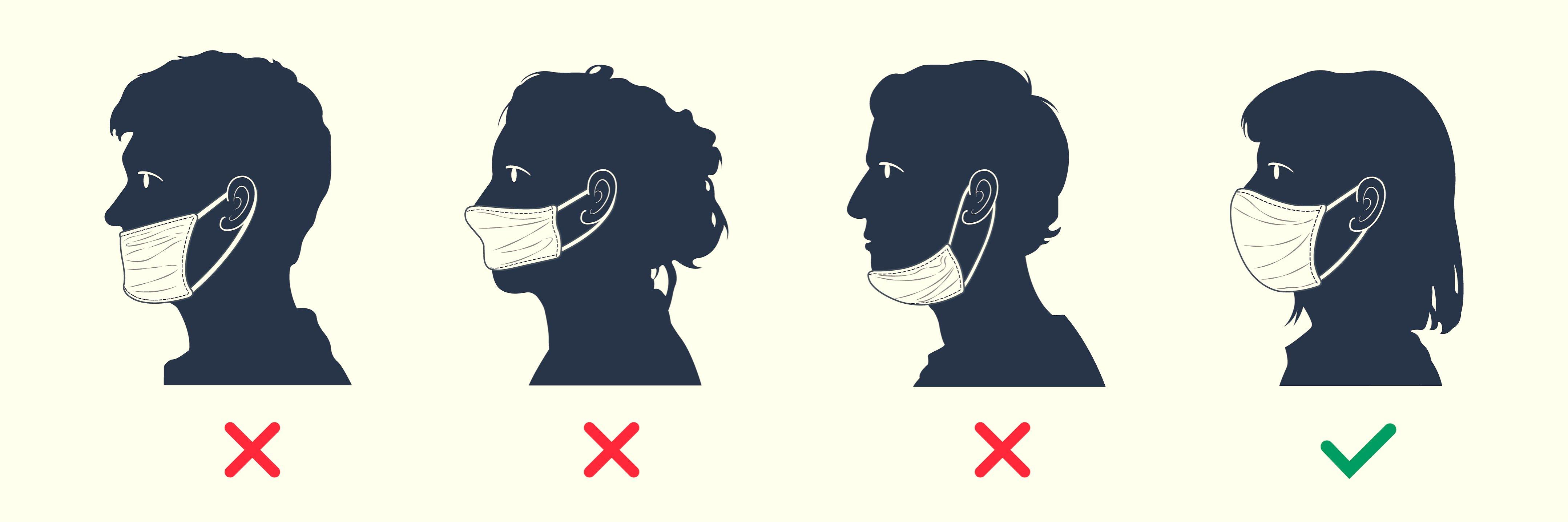 「ざんねんなコロナ対策」医療従事者がツッコミたくなるマスク・手袋の使い方