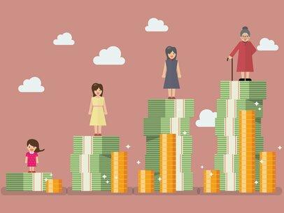 還暦60代、平均貯蓄額2000万円だと中央値はいくらか
