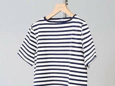 「細めの幅」で大人っぽく。夏の定番ボーダーTシャツ5選