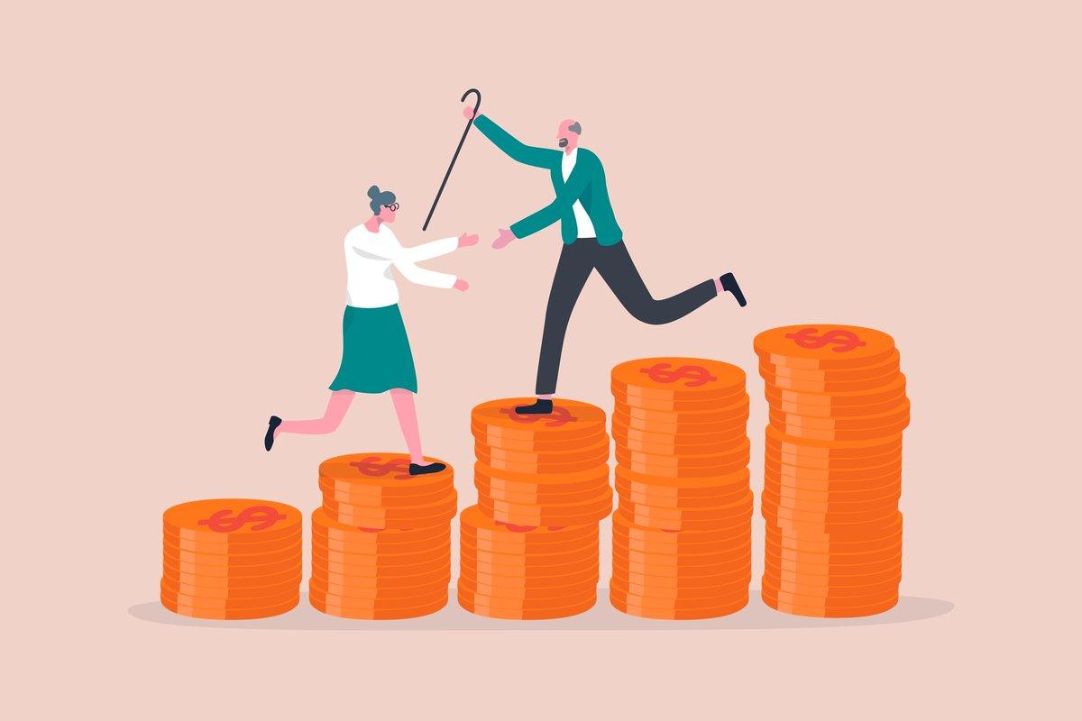 公務員なら、退職金だけで老後は安心できそうか