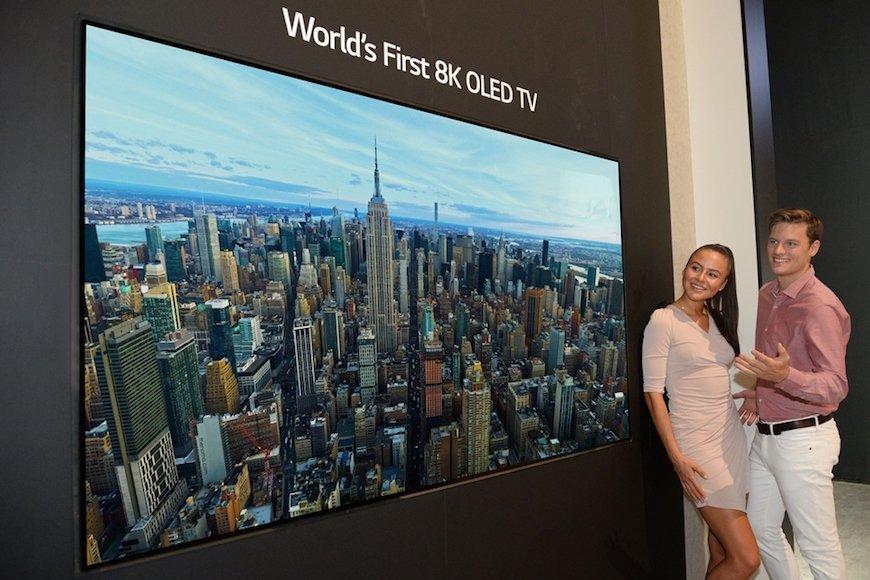 8K有機ELほか次世代の高精細テレビが相次ぎ登場