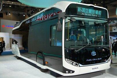 すでに燃料電池バスが運行しているのをご存じですか?