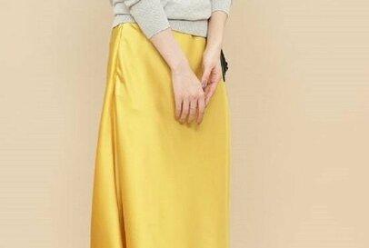 華やかさUP。春コーデを盛り上げる「きれい色スカート」