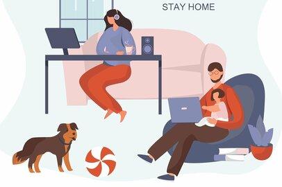 「夫婦で在宅勤務+子供は休校」はツラい…やってわかったテレワークの難しさ