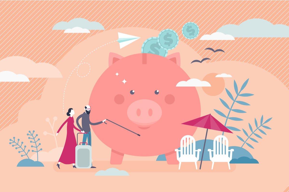 65歳以上・無職世帯の貯蓄は2000万円以上?海外との比較も