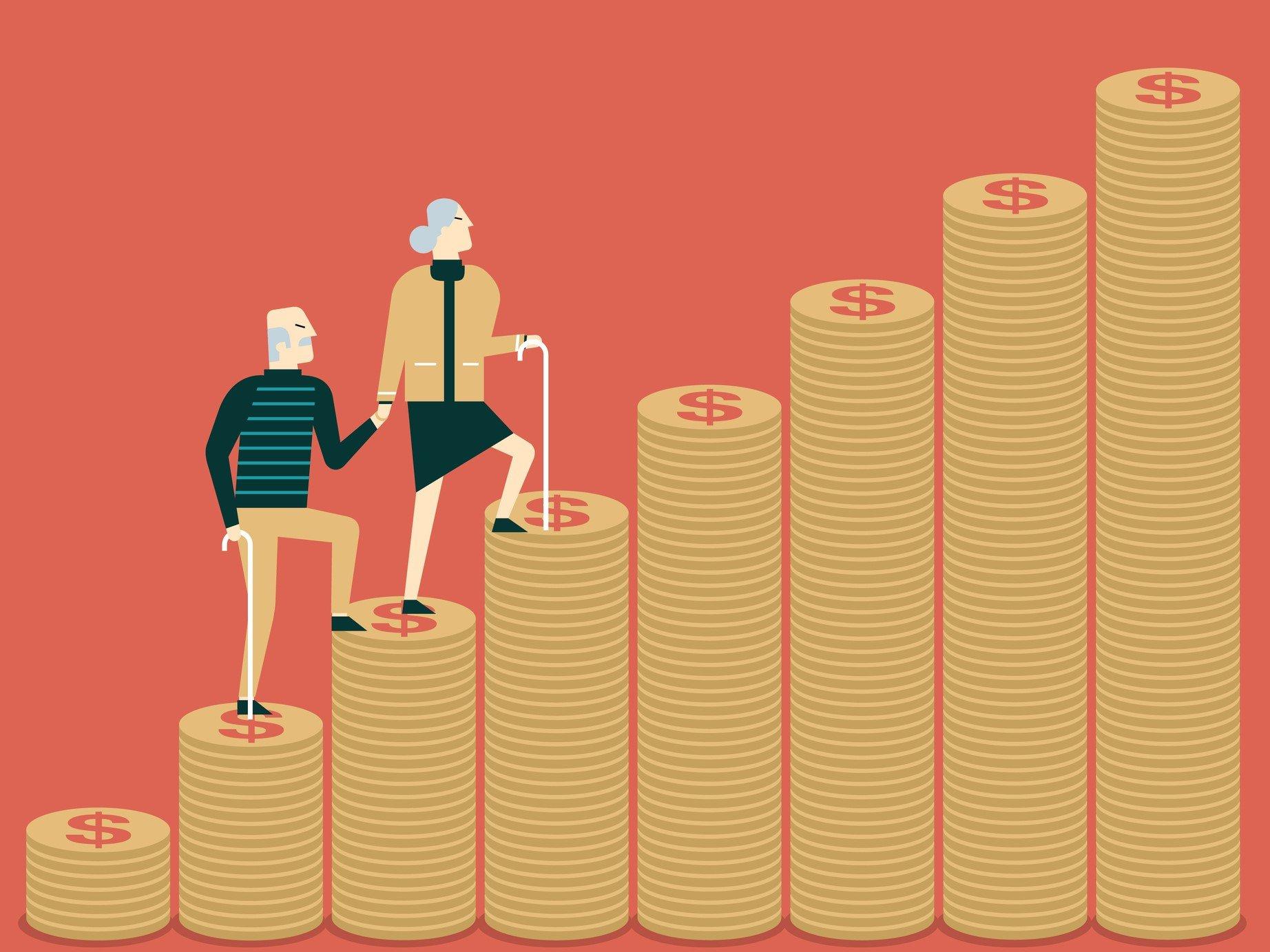 還暦定年60代、みんな貯金をいくら持っているか