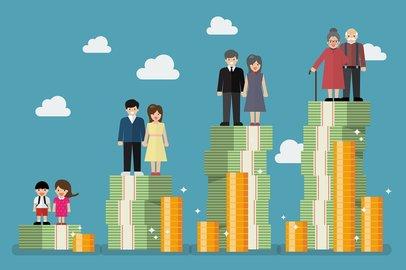 30代〜60代の「貯蓄と借入金」の平均額。あなたの年代はいくら貯めている?