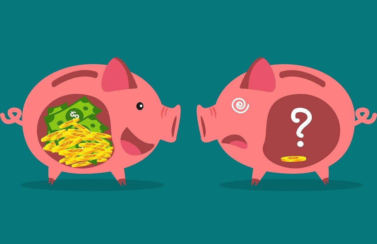 自分では気づけない、お金が貯まらない人と貯まる人の4つの「差」