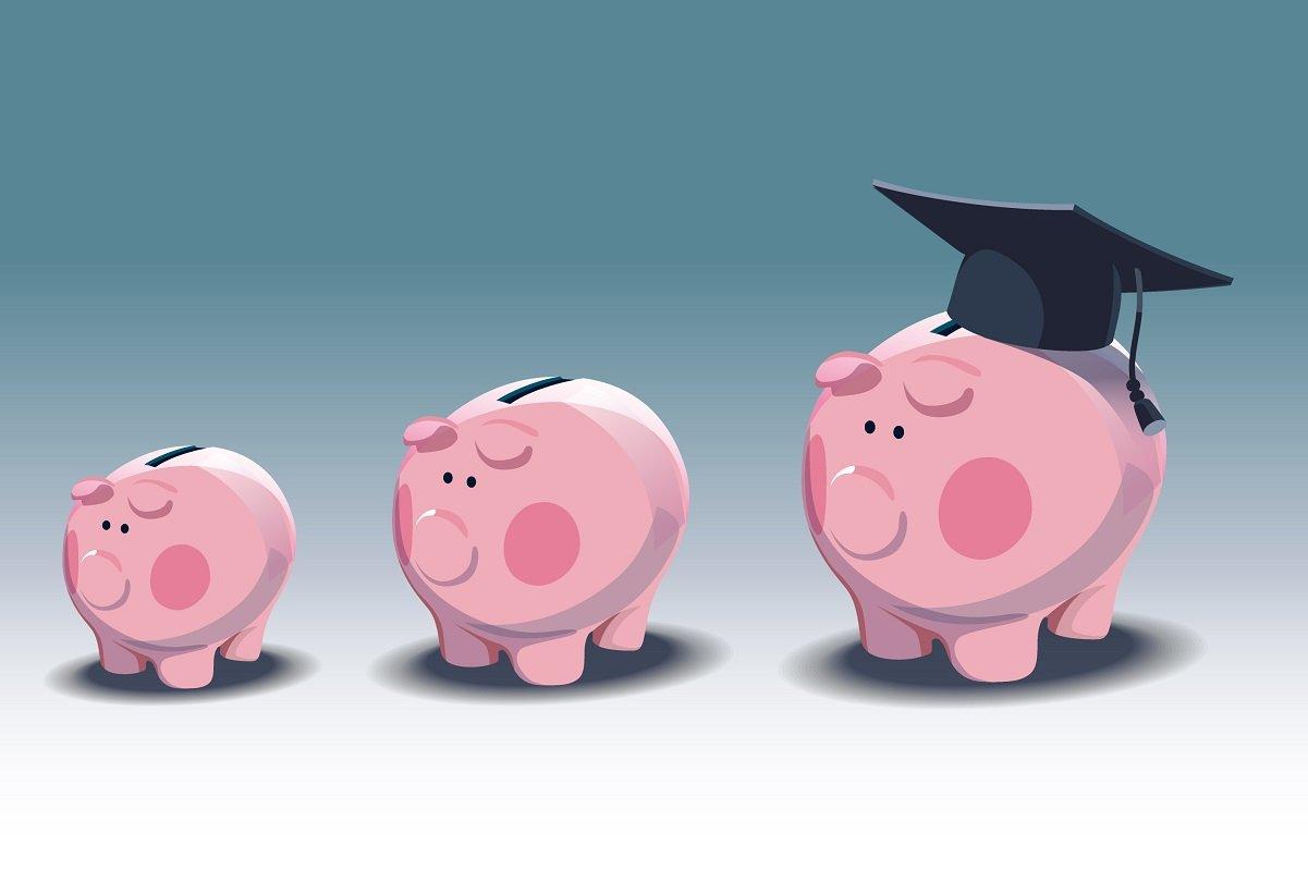 教育費が世帯年収に占める割合はどのくらいか。家計に重い大学進学