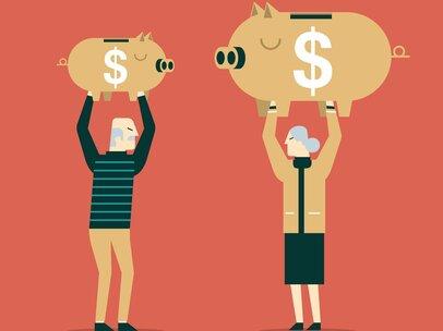 厚生年金と国民年金、定年後にいくらもらえるか