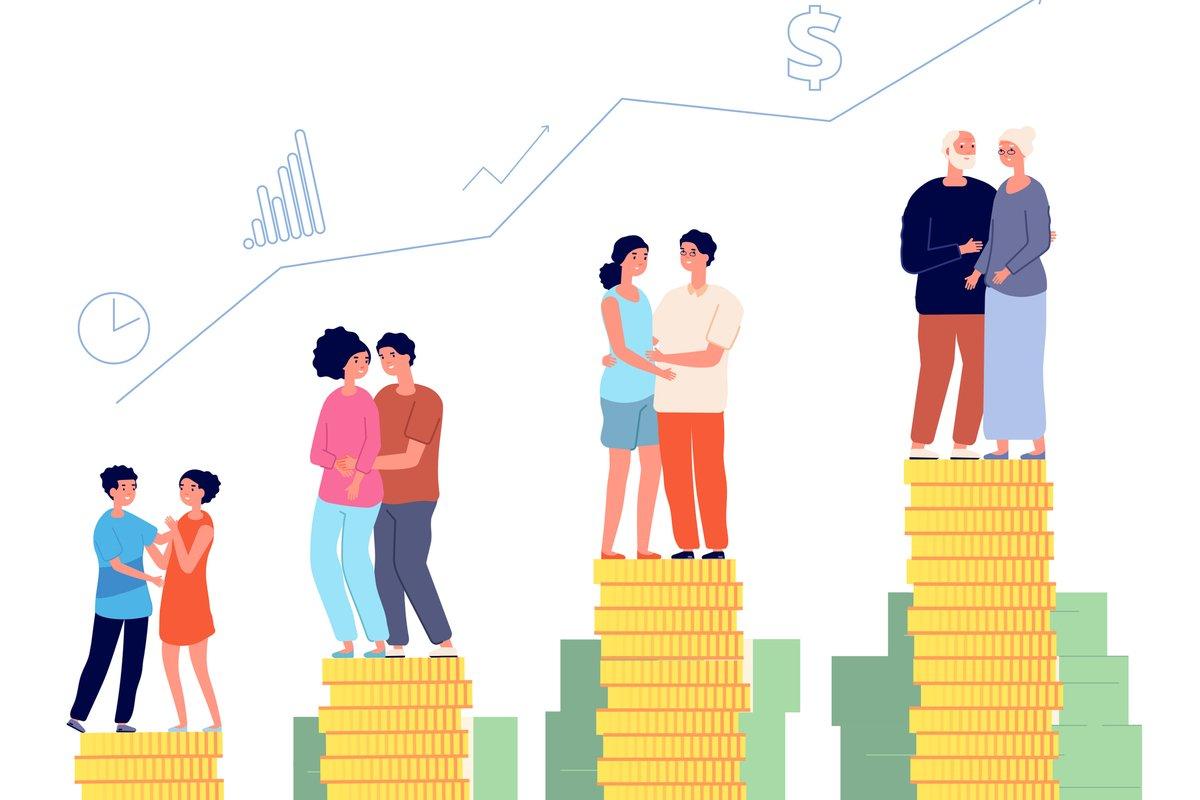 「みんなの平均いくら?」年間収入と貯蓄額【世代別】