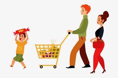親子で買物中の「おやつ買ってー!攻撃」…みんな「いくら」「何個」まで許してる?