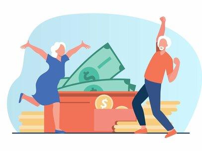 公務員と会社員の退職金、本当はいくら違うか