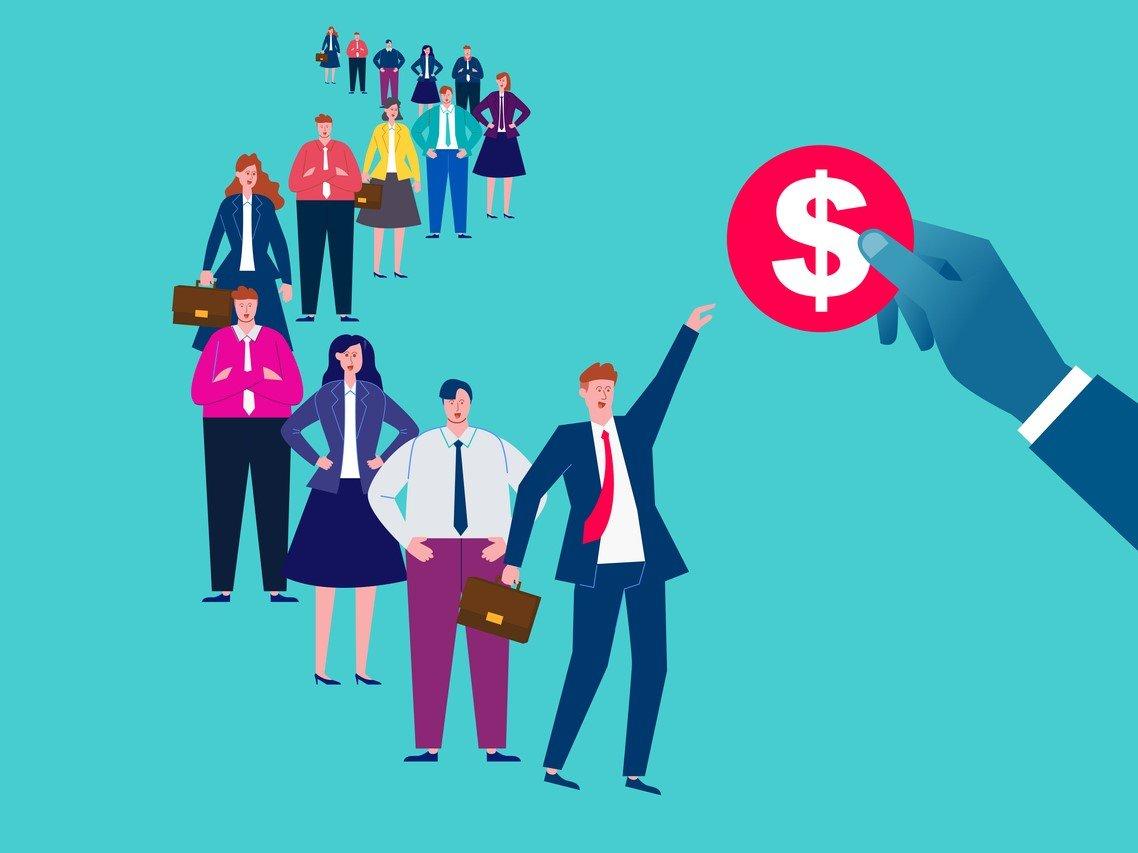 会社員は定年で退職金いくらもらっているのか