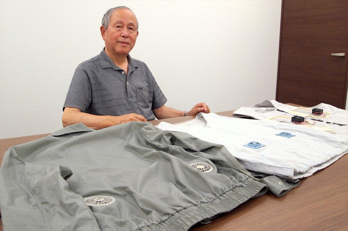 知る人ぞ知る猛暑対策ウェア「空調服」生みの親・市ヶ谷弘司さんが語る開発秘話