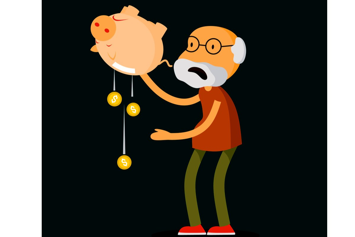 60歳以上「預貯金の取り崩し」は、ひと月どのくらいなのか?