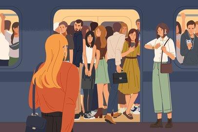 「その通勤ストレス、仕事の不満から来ているかも」残業時間、職場の人間関係に関係がある!?