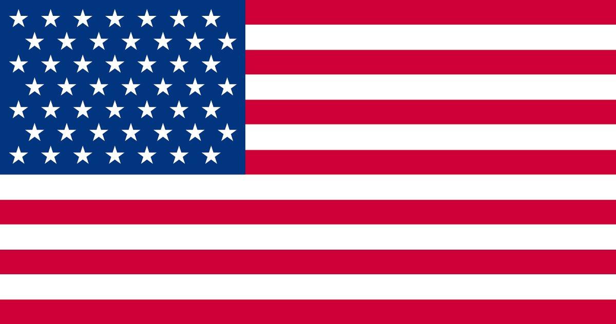 このアメリカ国旗、まちがいはどこでしょう?(難易度B)