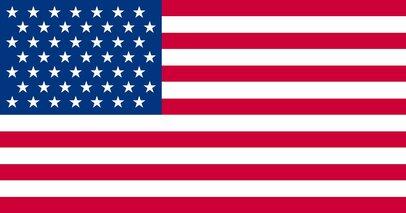 このアメリカの国旗、どこが「まちがい」かわかりますか?