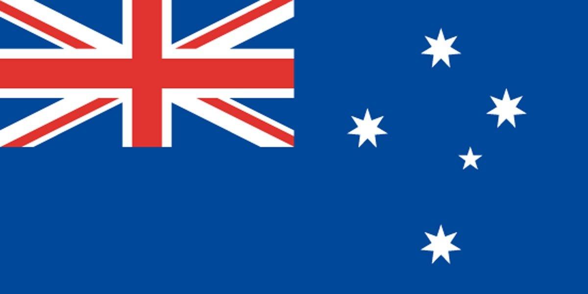 このオーストラリアの国旗、どこが「まちがい」かわかりますか?(難易度★★★☆☆)
