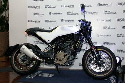 北欧ハスクバーナが斬新でユニークなバイクを発表