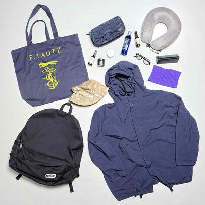 アパレル業界人の旅行バッグ拝見。2泊3日の東北温泉巡り【EDIFICE 新宿店/三浦 健司さん】