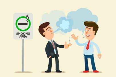ネット上で賛否「イオン、労働時間外の喫煙禁止」は違法か
