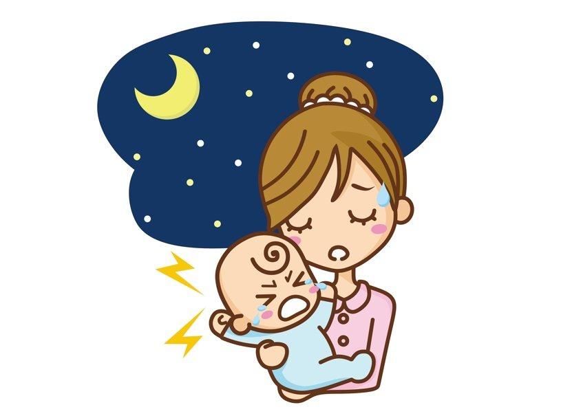 子どもの夜泣きでしんどい…保育園生活の中でできることを実践したら
