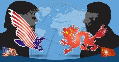 米国と中国は、ともに妥協できない全面対決へ