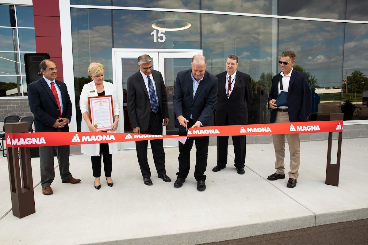 自動車部品大手のマグナ、エレクトロニクス新工場を開設