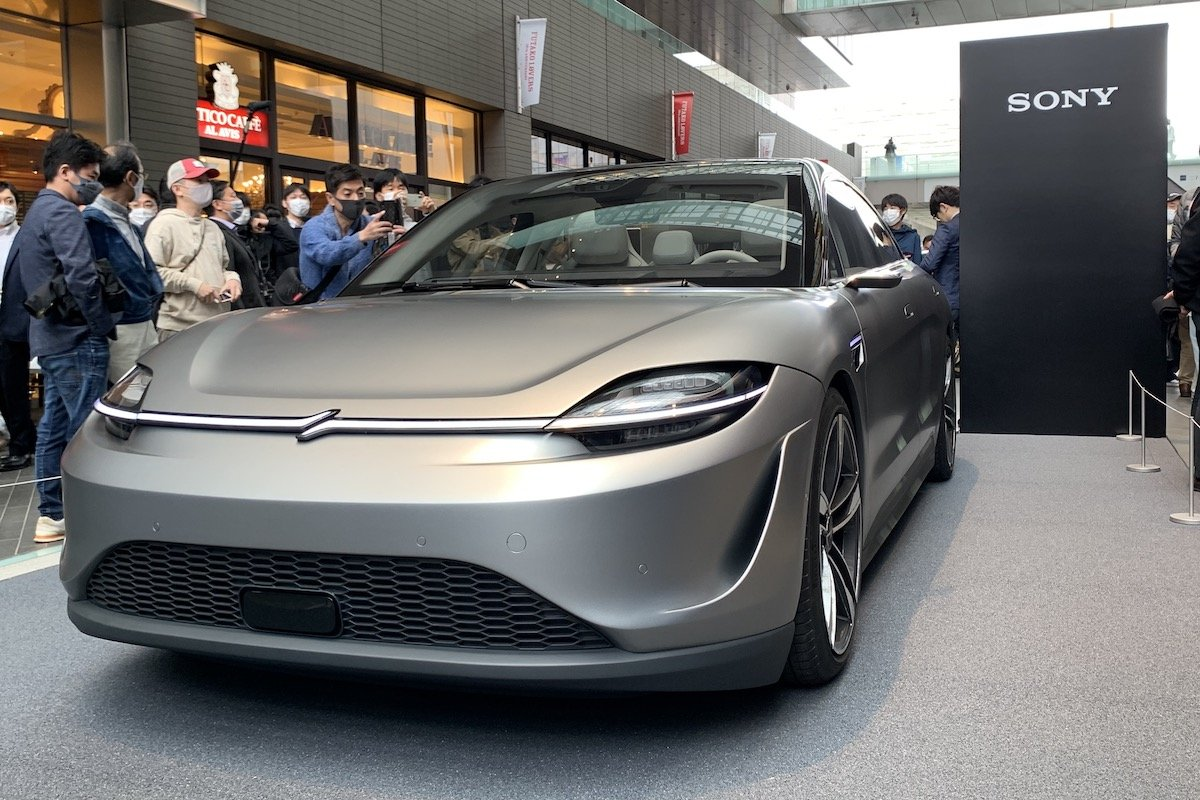 ソニー、電気自動車のコンセプトモデル「VISION-S」を国内初公開