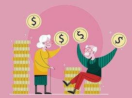 貯蓄額で見る、定年後60代の老後の落とし穴