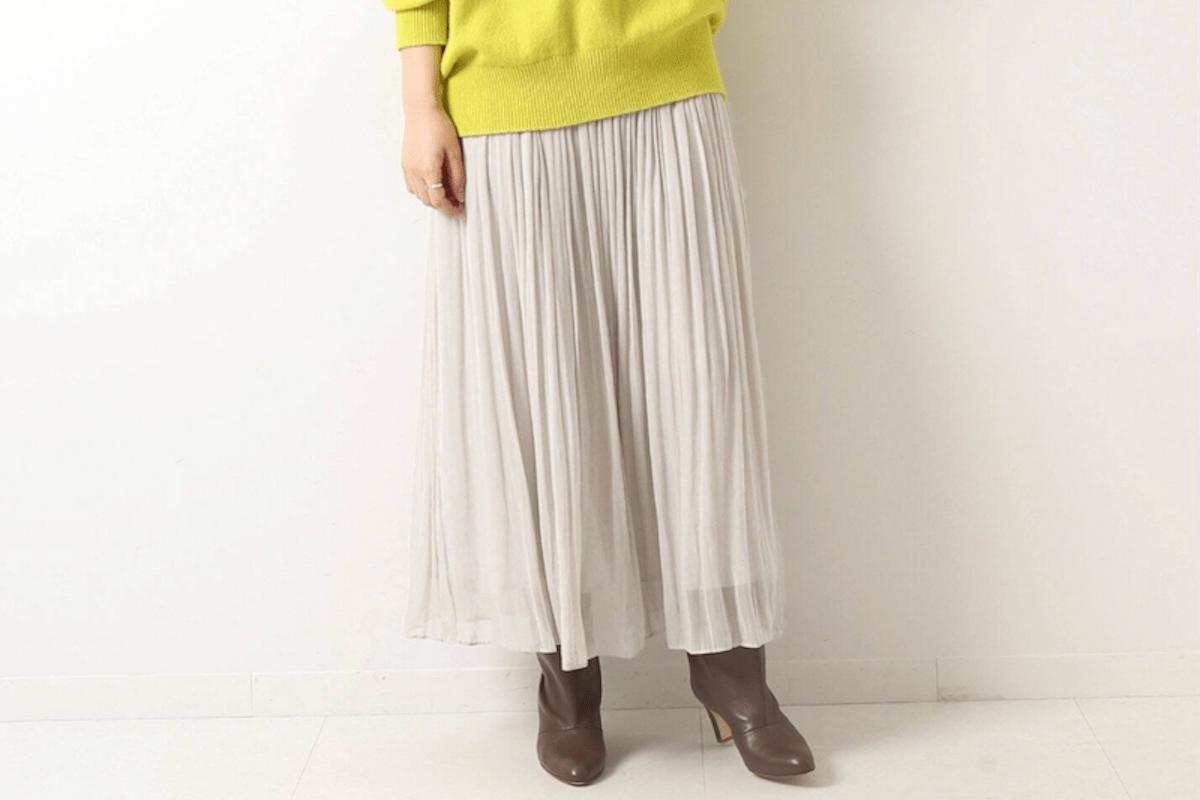 今買うべきは3ヵ月先まで使えるスカート【夏〜秋コーデ実例】