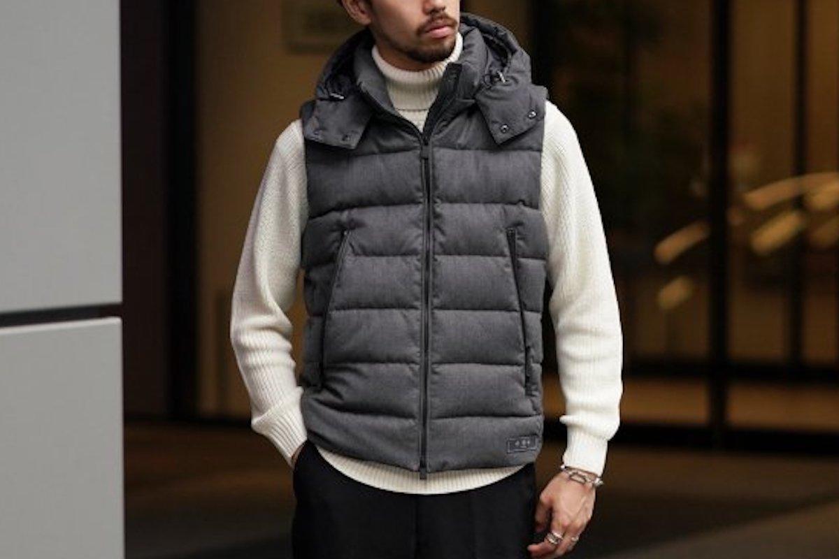 鉄板ブランドの名品「ダウンベスト」をピックアップ。冬までマルチに活躍します!