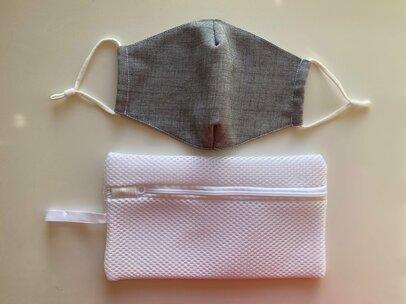 【ダイソースタッフ推し】新作「マスク用洗濯ネット」洗濯機での型崩れ防ぐ