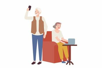 65歳以降「無職世帯」と「働く世帯」の貯蓄事情