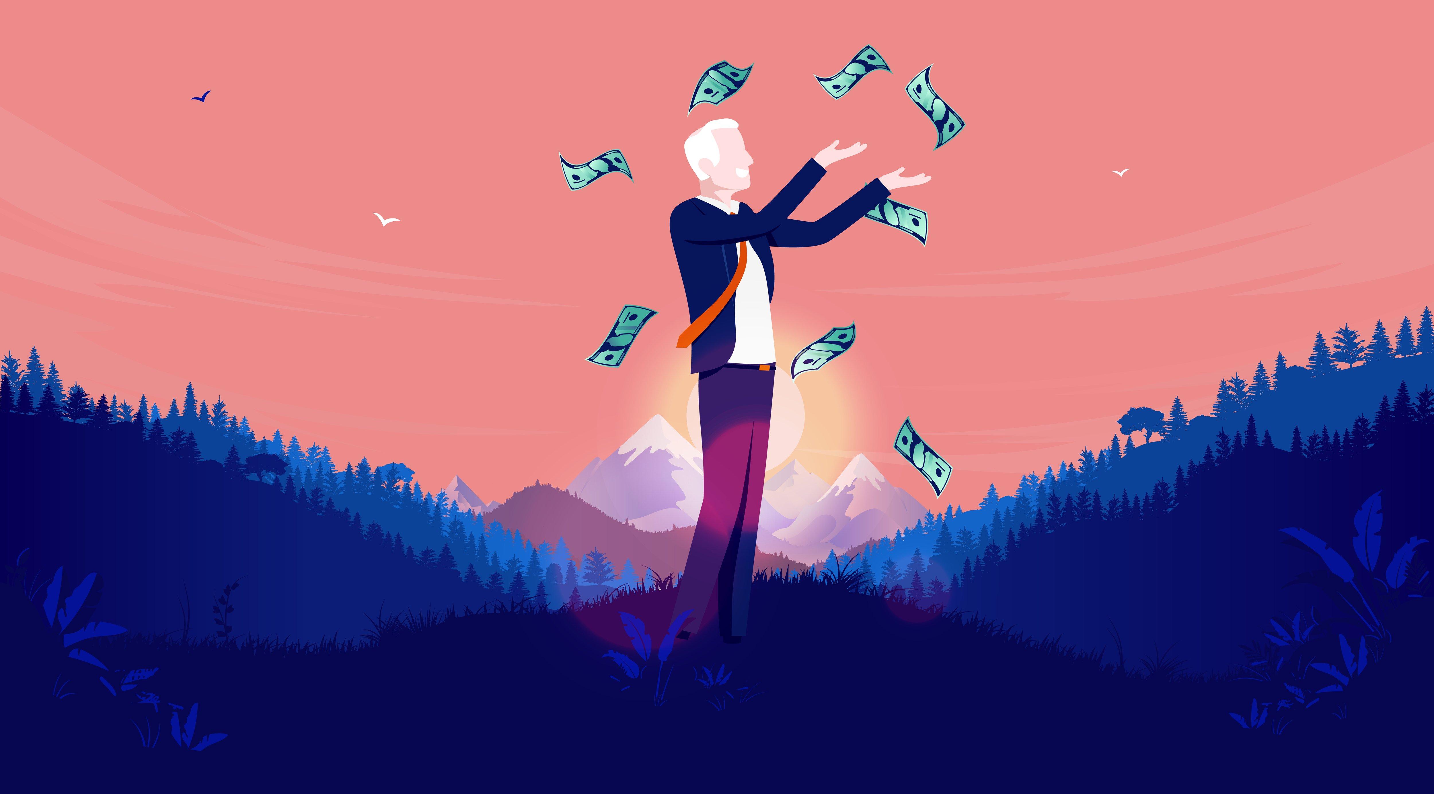 定年60歳以上「不労所得」がある人は、どのくらいいるのか。