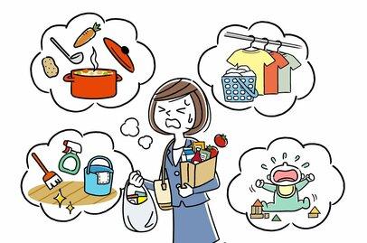 仕事に家事に育児、毎日クタクタなのは私だけ? なぜ妻は疲れ、諦めてしまうのか…