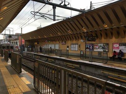 東急池上線旗の台駅 が戸越銀座に引き続き2019年春に木造駅にリニューアル