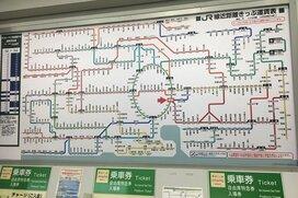 初乗り運賃140円だけで1日中電車に乗れる!大回り乗車と駅ナカ巡りの旅